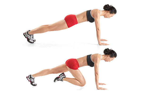Eight Moves for Abs