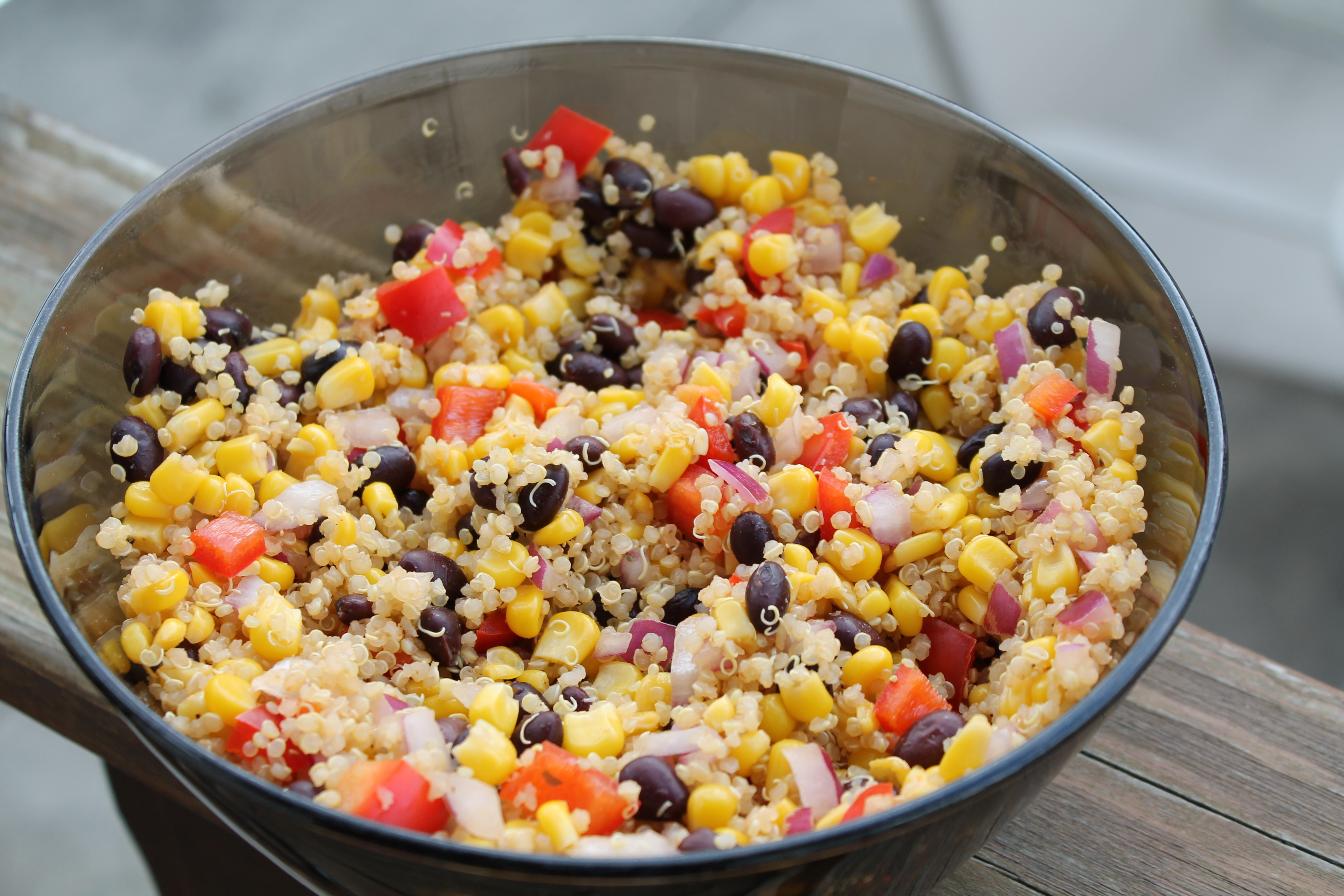 with southwest quinoa salad southwest quinoa salad there are just a ...