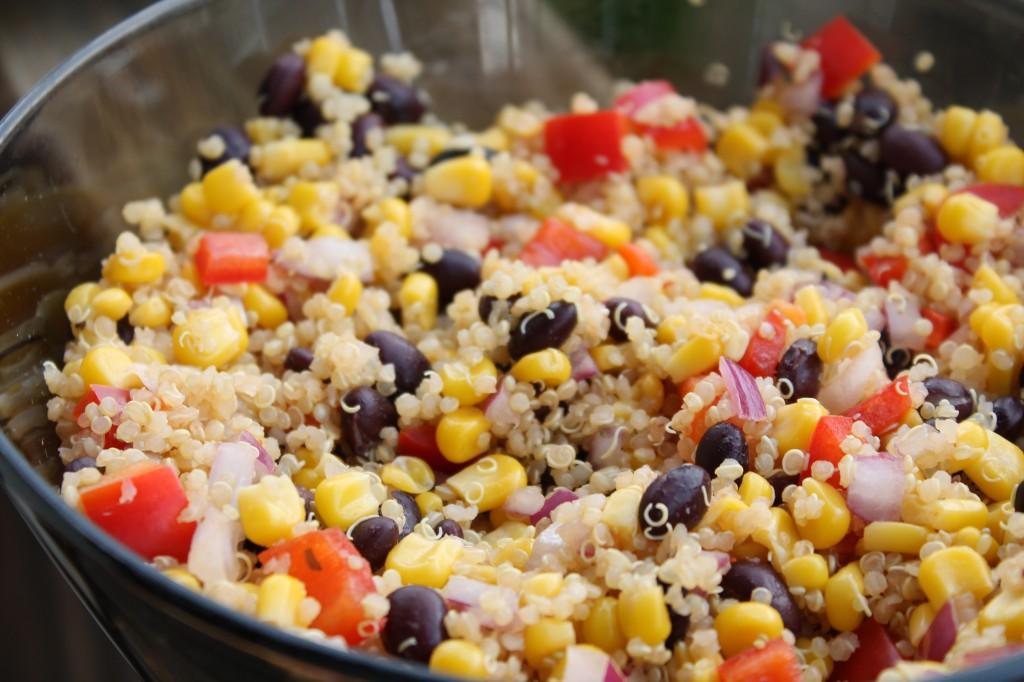 Southwestern Quinoa Salad Frolic Through Life