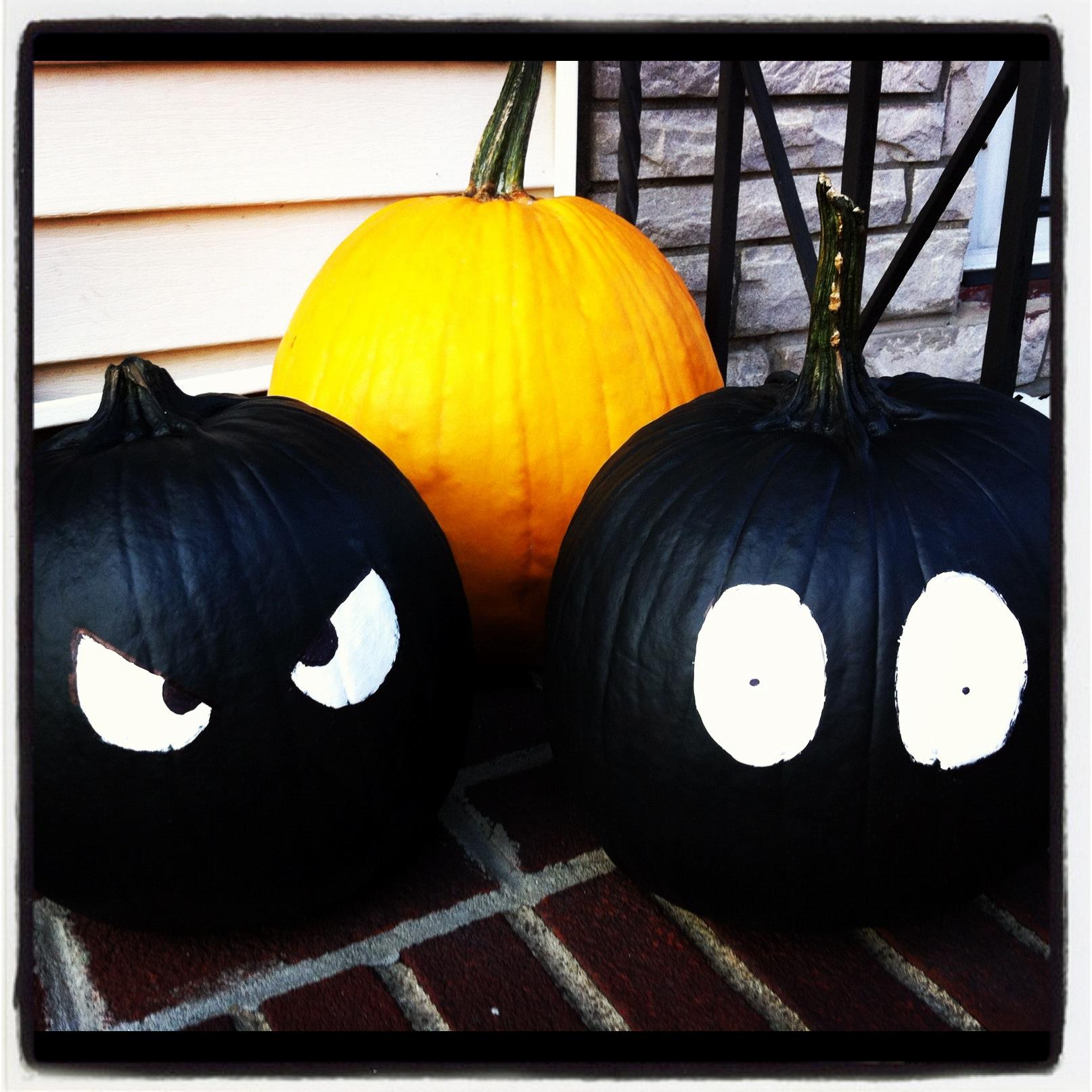 when - Halloween Pumpkins Painted