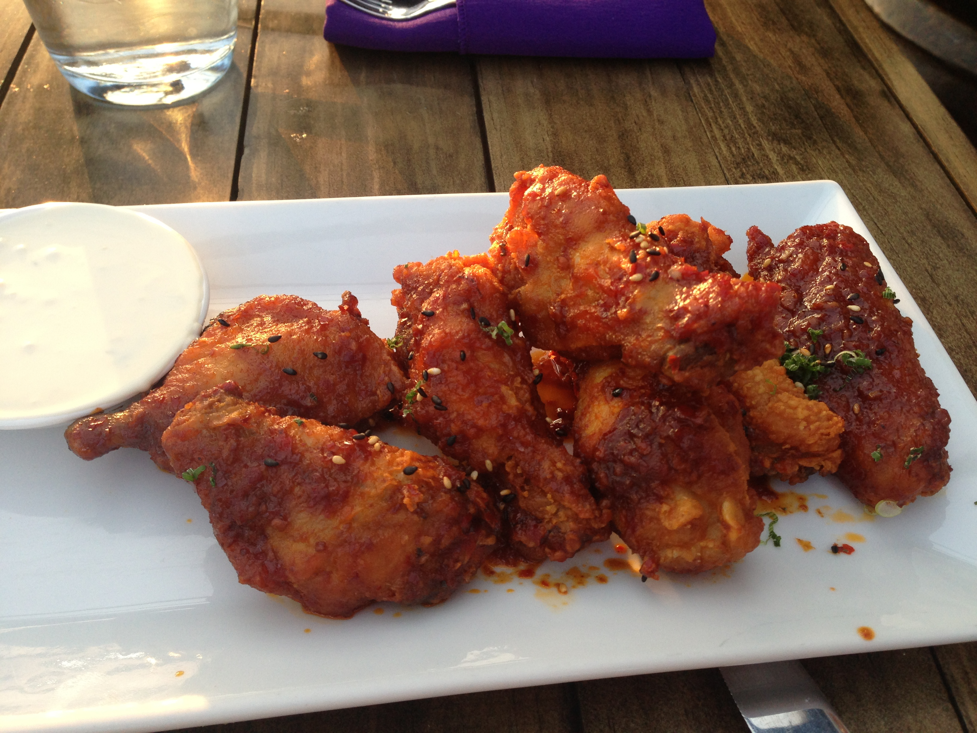 korean style chicken wings 808 penthouse