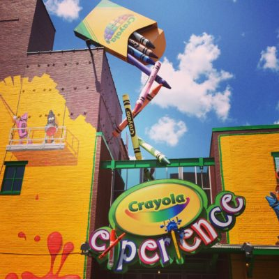 A Trip to the Crayola Experience