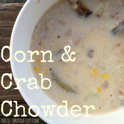 Corn & Crab Chowder