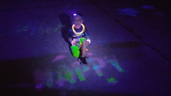 color run night happy
