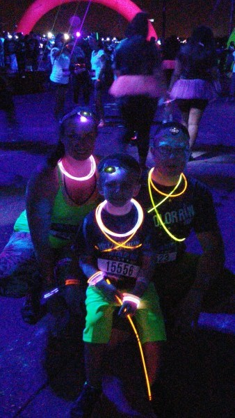 color run night