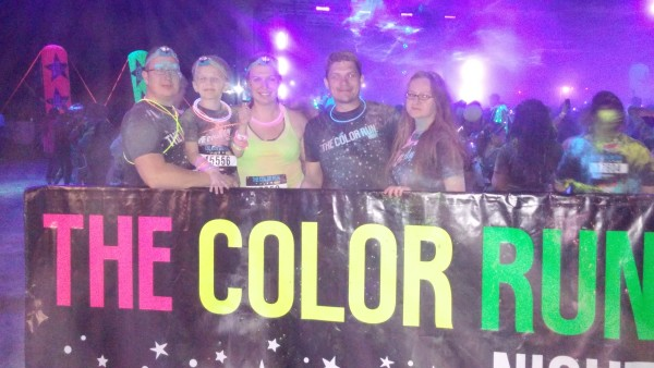 color run night after
