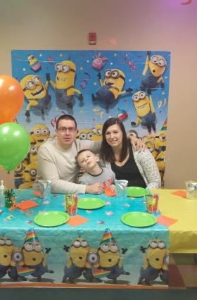 Alexs minion birthday
