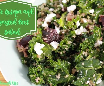 Kale Quinoa and Roasted Beet Salad