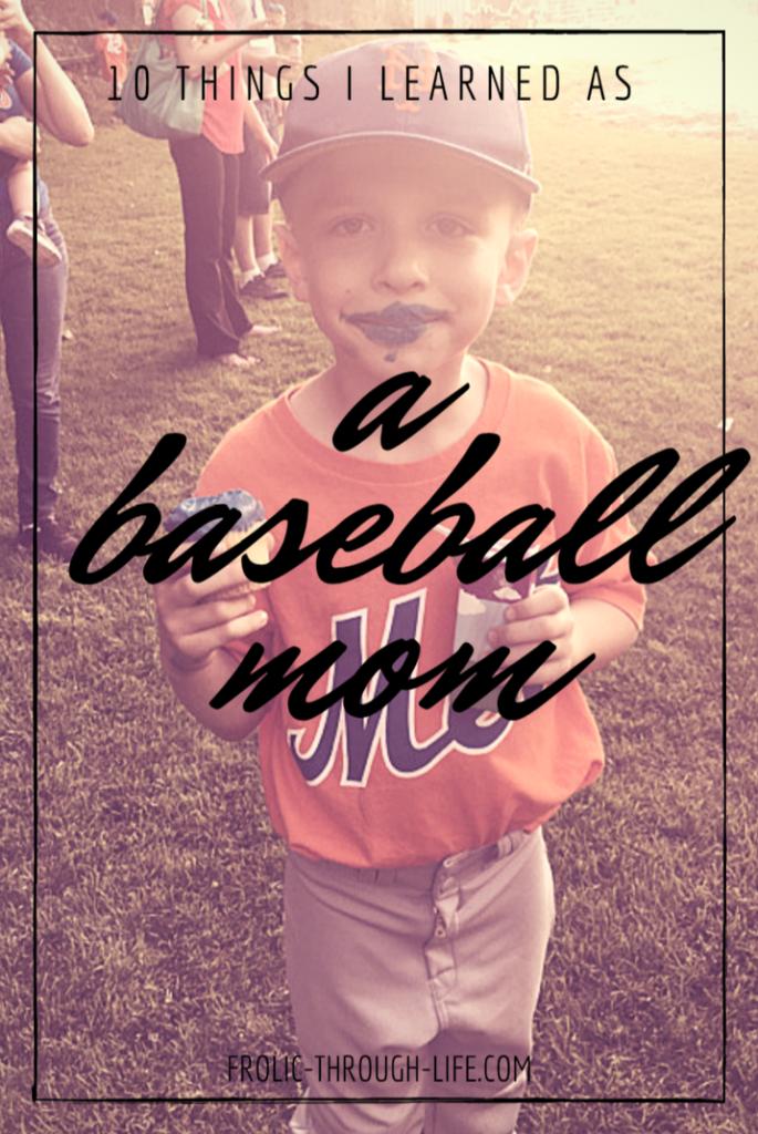 10 Things I Learned as a Baseball Mom