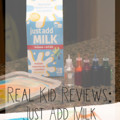 Just Add Milk Science + Art Kit