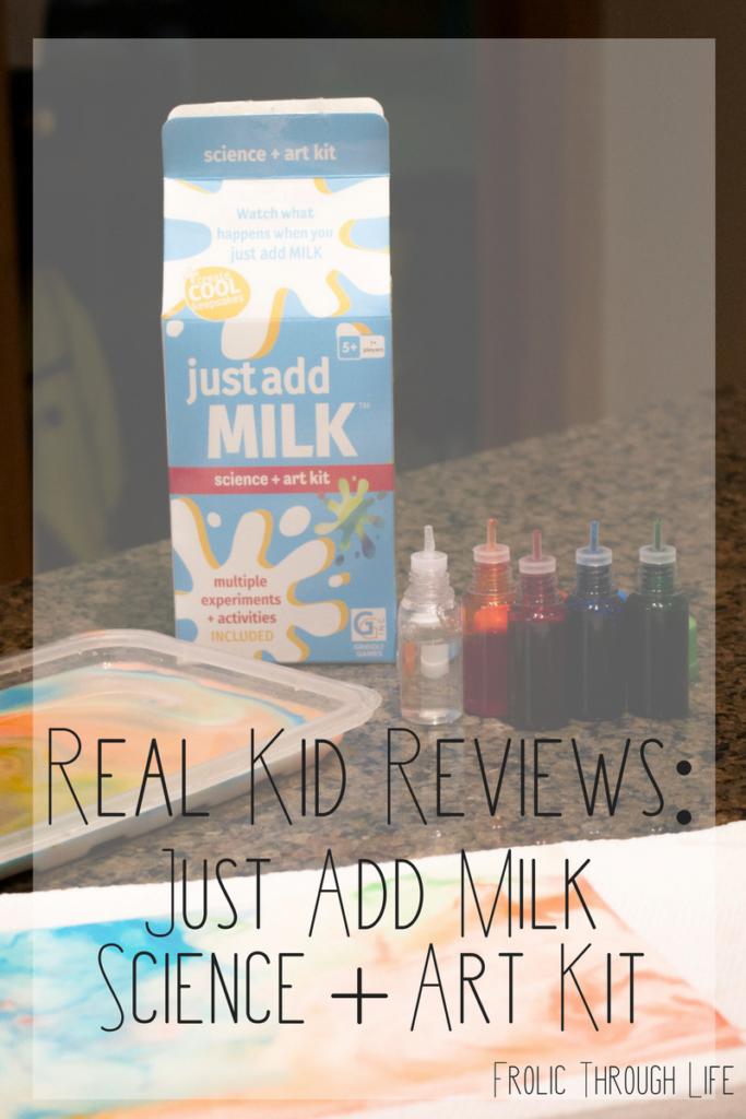 Just Add Milk Science + Art Kit