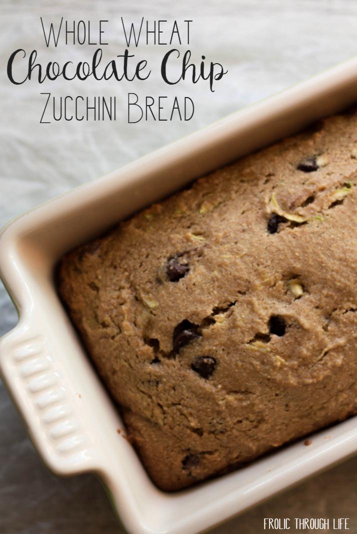 whote wheat zucchini bread
