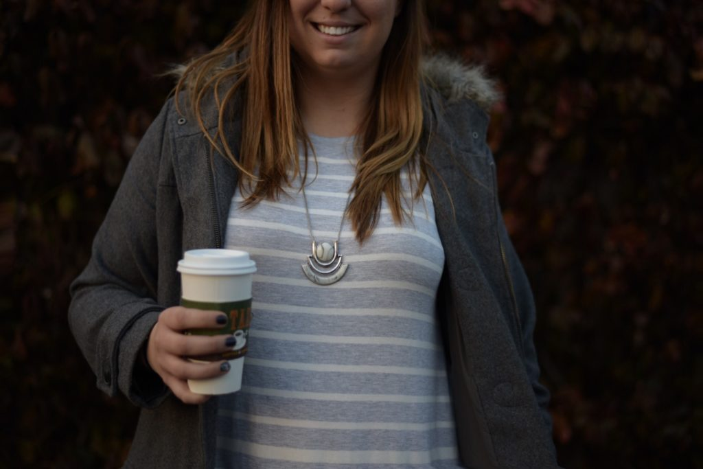 Comfy Weekend Dress + 7 Charming Sisters Necklace