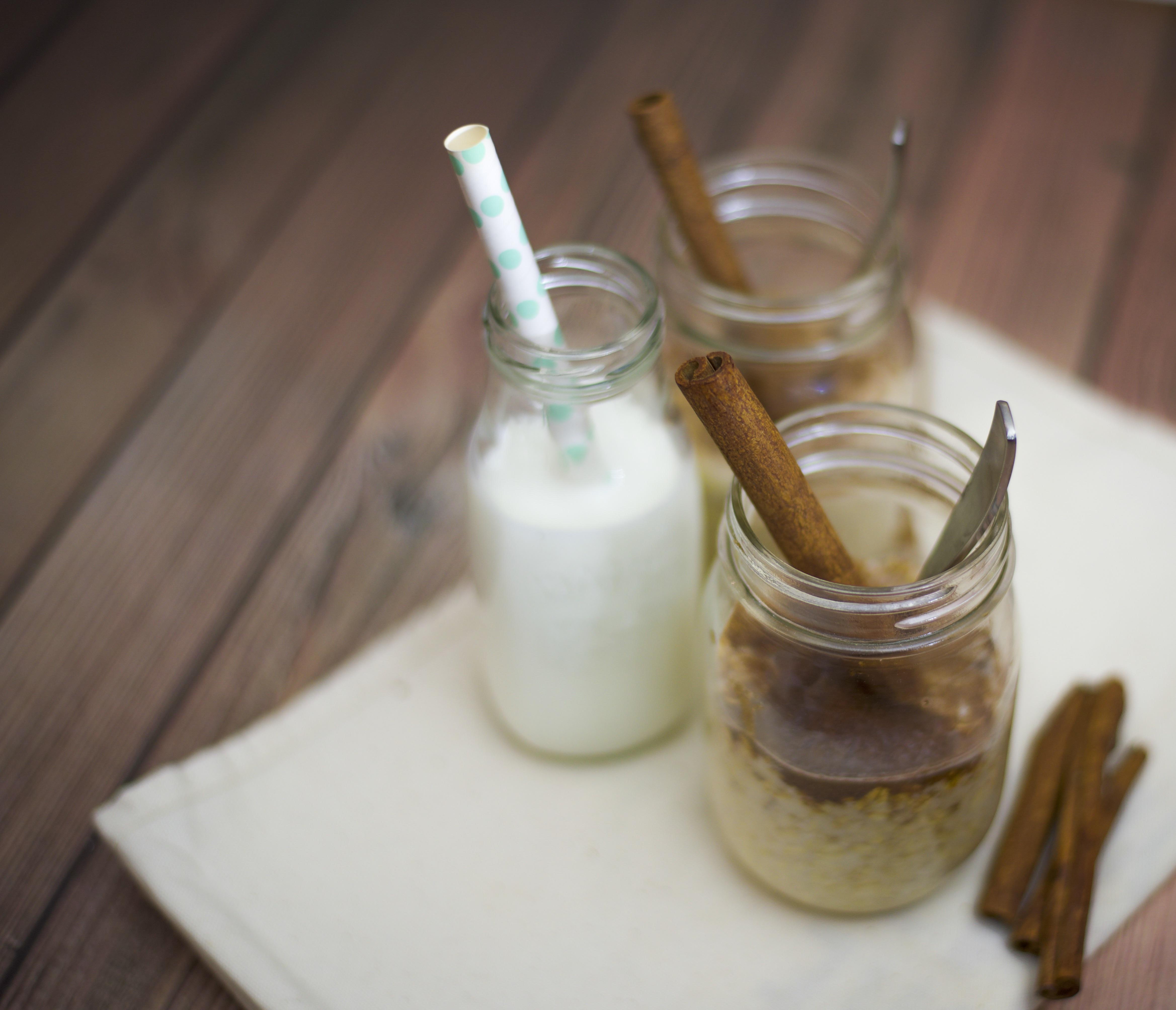 Maple & Brown Sugar Overnight Oats