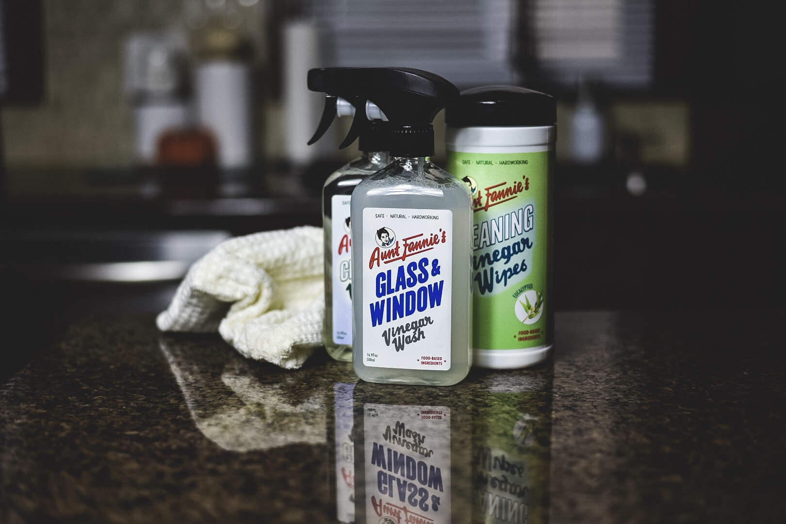 aunt fannie's, #HomeSweetBiome #HealthierHousekeeping #PlantBased #NaturalCleaning