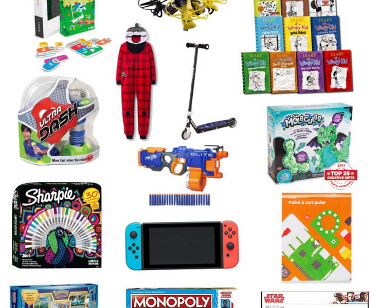 Gift Guide: Boys 8-11 years old