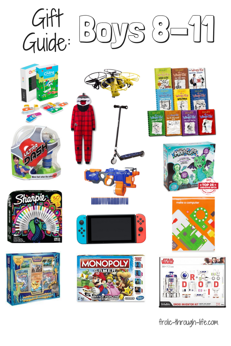 Gift Guide: Boys 8-11 years old - Frolic Through Life